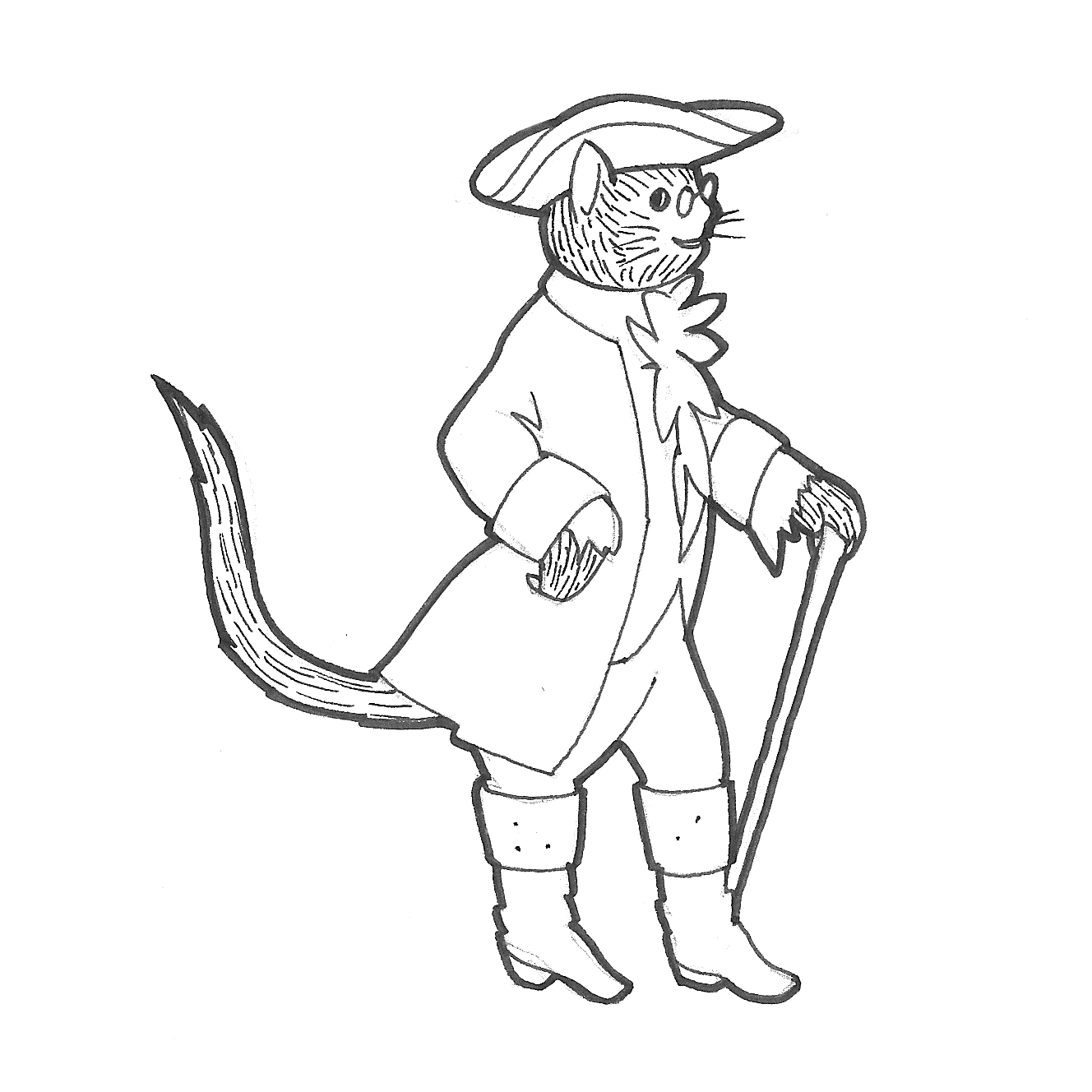 Puss in boots hoots loots roots doodles and jots for Kitty softpaws coloring pages
